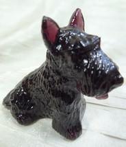 Duke Scottie Scottish Terrier Dog Blackberry Glass 5/27/2004 - $17.75