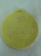 Fiesta-CHRISTMAS-Ornament-75th Anniversary Sunflower Homer Laughlin Co HLC - $11.99
