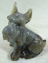 Charlie Scottie Dog Scottish Terrier Charcoal Grey Glass 5/13/13 - $17.75