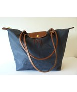 Authentic Lonchamp Le Pliage Monogrammed Tote S... - $65.00