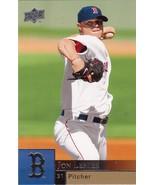Baseball Cards- 2009 Upper Deck Jon Lester, Curt Schilling, Jonathan Van... - $3.00