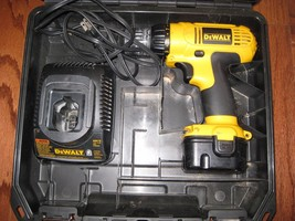 DeWalt 12V tool set, drill, charger, battery, case, DC727 - $30.00