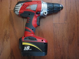 Skil X-Drive 18V, drill, battery, no charger - $24.79