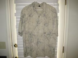 Tommy Bahama short sleeved silk  shirt, silk , Men's Large - $21.93