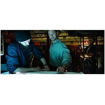 Black Sea with Jude Law as Captain Robinson Looking at Charts for Gold 8... - $8.99