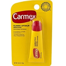 Carmex Classisc Lip Balm Medicated, 0.35 oz, Pack of 12 - $20.79