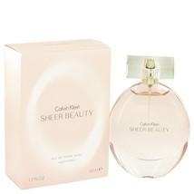 Sheer Beauty By Calvin Klein For Women 50 ml / 1.7 oz EDT Spray - $15.26