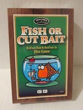 Fish or Cut Bait Dice Game Fun Front Porch Classics University Games New - $12.00