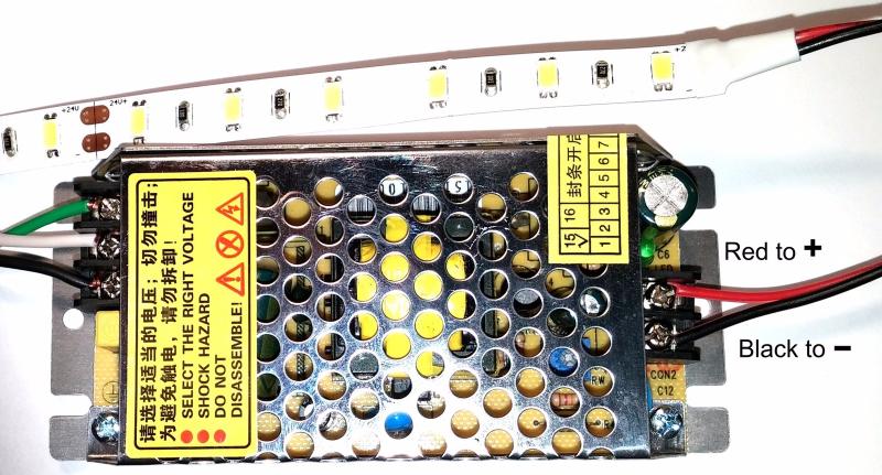 Switching Power Supply, 60W LED Driver, 24V DC, 110-240VAC 2yr Warranty