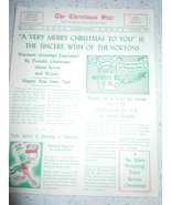 The Christmas Star Family Christmas Letter 1976 - $4.99