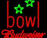 Budweiser bowling alley neon sign 16  x 16  thumb155 crop