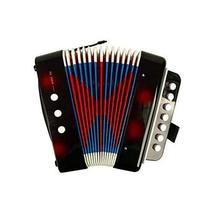 PANDA SUPERSTORE Musical Toy Cool Accordion Instrument for Kids Early Educationa