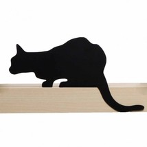 Shelve Design Metal Black Shelf Decor Cat Home Gift Elegant SOHO Lifesty... - $25.00