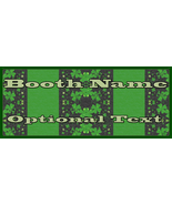 St Patrick's Day Stripes Bonanza Booth Banner Graphic Design Digital Web... - $10.00