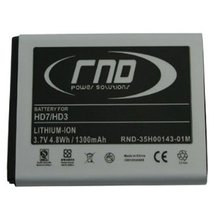 RND Li-Ion Battery (35H00143-01M) for HTC (HD7 and HD3) - $15.99