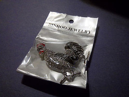 ROOSTER BROOCH PIN>>PLEASE SEE PICTURE - $2.99