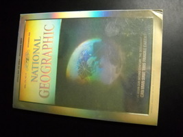 National Geographic December 1988 Can Man Save This Fragile Earth Holographic - $8.99