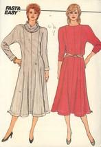 Butterick 3013  Misses Dollman Sleeve Dress Vintage 1984 UNCUT Size 12,1... - $5.50