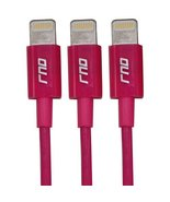 RND 3x Apple Certified Lightning Reversible USB 3.3FT Cable for iPhone (... - $28.99