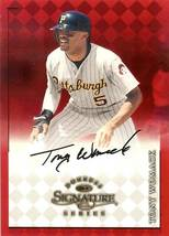 1998 donruss signature tony womack autograph pirates baseball card - $4.99