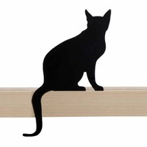 Metal Black Shelf Decor Cat Home Gift Elegant SOHO Lifestyle Room Shelve Design - $25.00