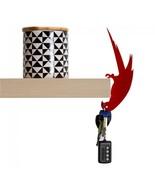 Parrot Home Gift Hanger key Design Metal Shelf Decor Elegant SOHO Lifest... - $27.00