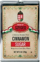 Szeged Cinnamon/Sugar, 5-Ounce Tins (Pack of 6)  - $39.99