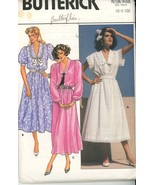 Vintage 1985 Butterick 3231 Garden Party Dresses with Lace Size 6..8..1... - $2.00