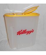 1996 Collectible Kelloggs Cereal Plastic Contai... - $21.95