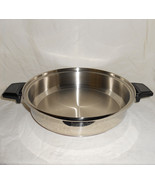 Lustre Craft 5-Ply Cookware Dual Use 3 Quart Shallow Saucepan or 11 inch... - $227.95