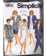 Simplicity 7896 Women's Pants, Skirt, Dress, Ja... - $7.00