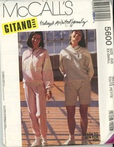 Mccall's 5600 Gitano Misses TOps and Pants or shorts Size 6,8 UNCUT - $5.50
