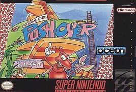Push-Over (Super Nintendo Ent. System 1992) SNES Game Only With Free Shi... - $17.49