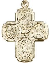 FIVE WAY Medal - Gold Filled Medal Pendant - 0041 image 2