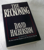 The Reckoning David Halberstam PB Automobile Cars Petroleum Energy Japan... - $24.70