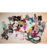 TY BEANIE BABIES Lot of 40 Mixed Lot Tags on Most - $43.37
