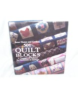 501 QUILT BLOCKS A Treasury of Patterns for Patchwork & Applique Book NEW! - $17.96