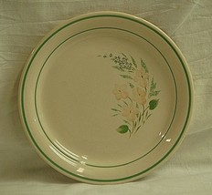 "Old Vintage Corner Stone By Corning Glenora 8-1/2"" Luncheon Plates Pink Floral - $16.82"