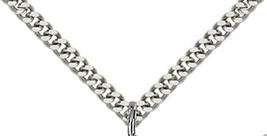 FOUR WAY MEDAL - Sterling Silver Medal Pendant- 0039 image 3