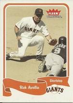 2004 Fleer Tradition Rich Aurilia 441 Giants - $1.00