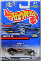 Hot Wheels - Sweet 16: Collector #220 (2000) *Black Edition* - $6.49