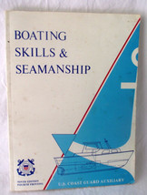 Boating Skills Seamanship US Coast Guard Auxillary Boats Ocean Safe Cour... - $19.78