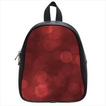 Red Rain Bubble Leather Kid's School Bag / Children's Backpack - $33.94+
