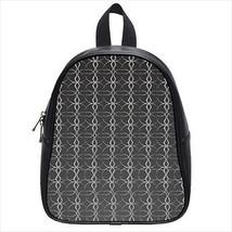 Silver Pendant Leather Kid's School Bag / Children's Backpack - $33.94+