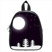 Snowy Nights Leather Kid's School Bag / Children's Backpack - $33.94+