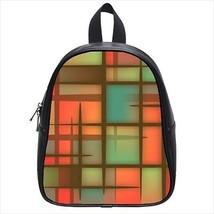 Summer Patterns Leather Kid's School Bag / Children's Backpack - $33.94+