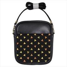 Gold Triangles Leather Sling Bag & Women's Handbag - $16.48+