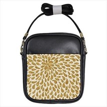 Gold Droplets Leather Sling Bag & Women's Handbag - $16.48+