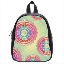 Spirtual Pattern Leather Kid's School Bag / Children's Backpack - $33.94+