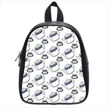 Teapots Teacups Leather Kid's School Bag / Children's Backpack - $33.94+